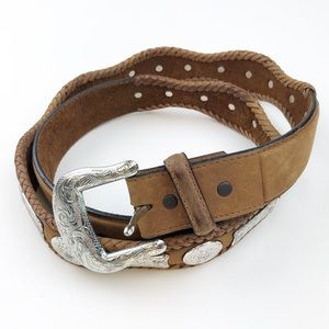 Tony Lama | Men's Size 42 Western Leather Belt